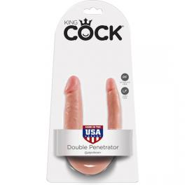 KING COCK PENE REALISTICO DOBLE SMALL