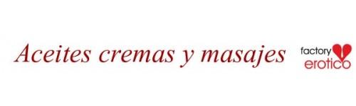 ACEITES CREMAS DE MASAJES