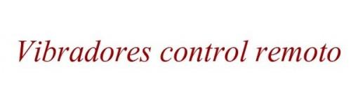 Vibradores control remoto